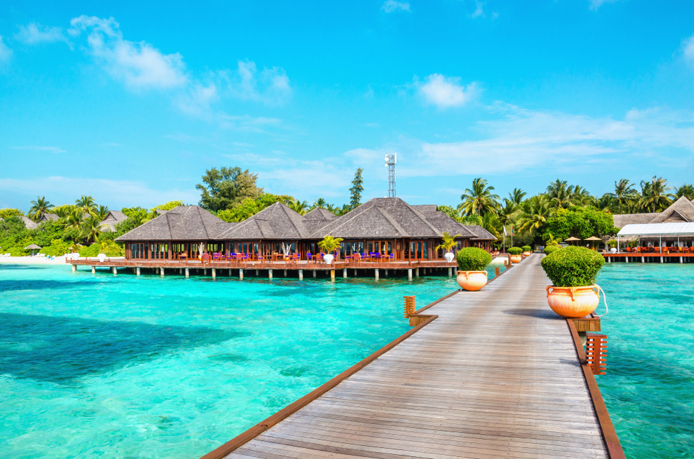 Luxury beach villas for winter vacations
