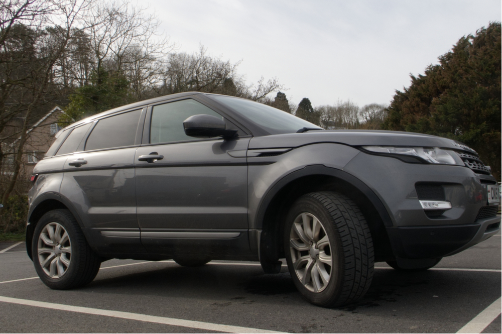 Discover the Range Rover Evoque
