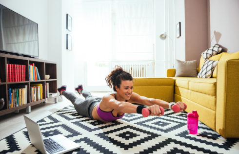 5 Ways To Keep Fit At Home